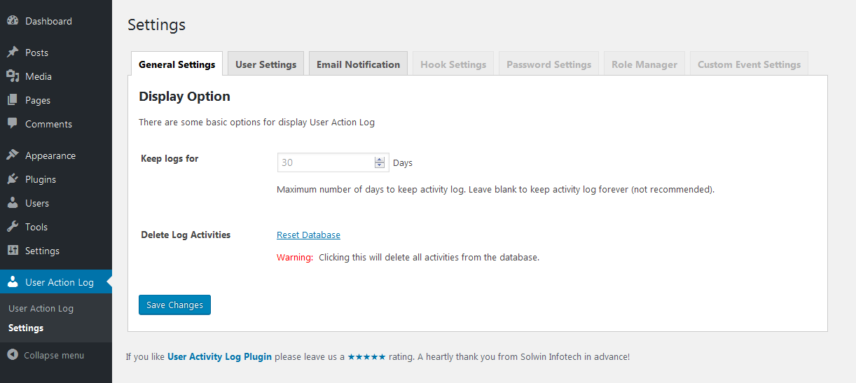 user-activity-log screenshot 2