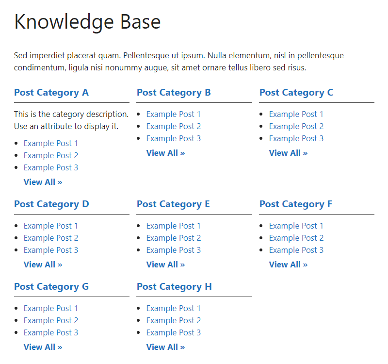 very-simple-knowledge-base screenshot 1