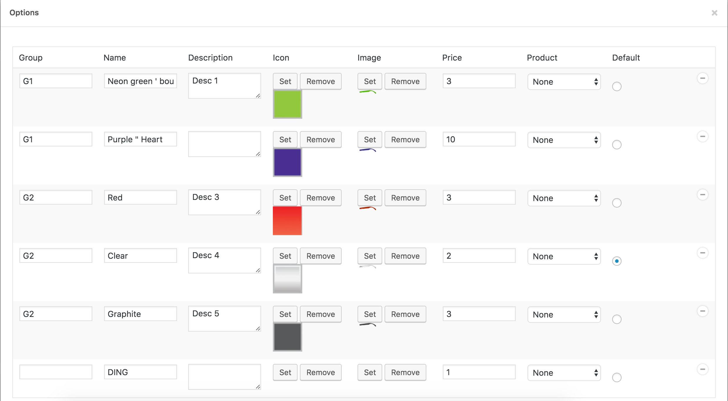 visual-products-configurator-for-woocommerce screenshot 3