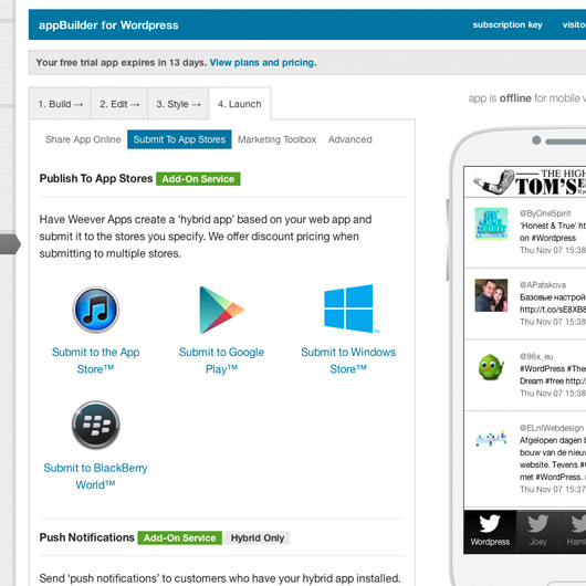weever-apps-20-mobile-web-apps screenshot 4