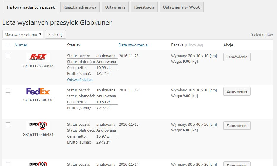 woo-globkurier-shipping-method screenshot 4