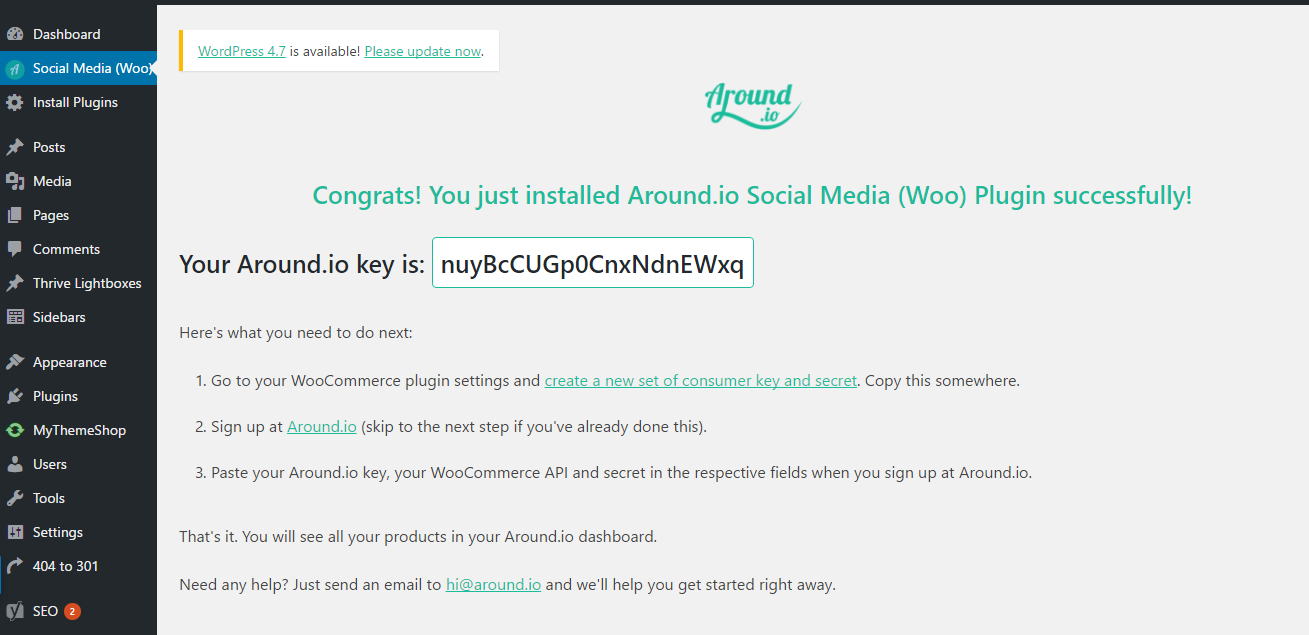 woo-social-media-marketing screenshot 1
