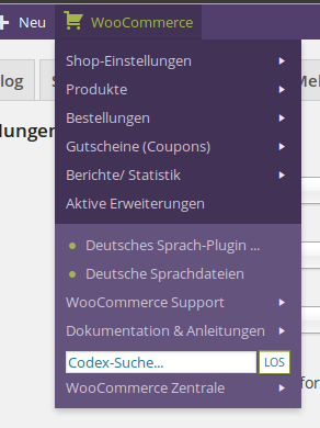 woocommerce-admin-bar-addition screenshot 5