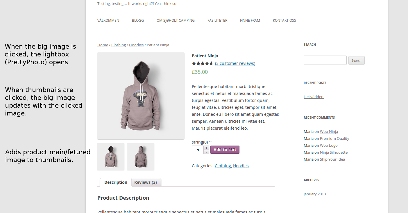 woocommerce-better-thumbnail-navigation screenshot 1
