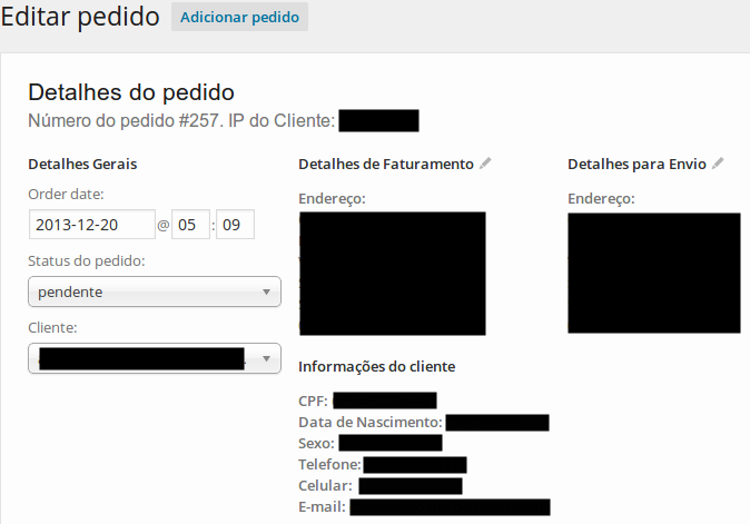 woocommerce-extra-checkout-fields-for-brazil screenshot 3