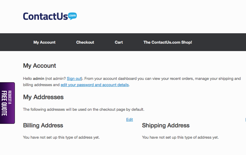 woocommerce-newsletter-signup screenshot 3