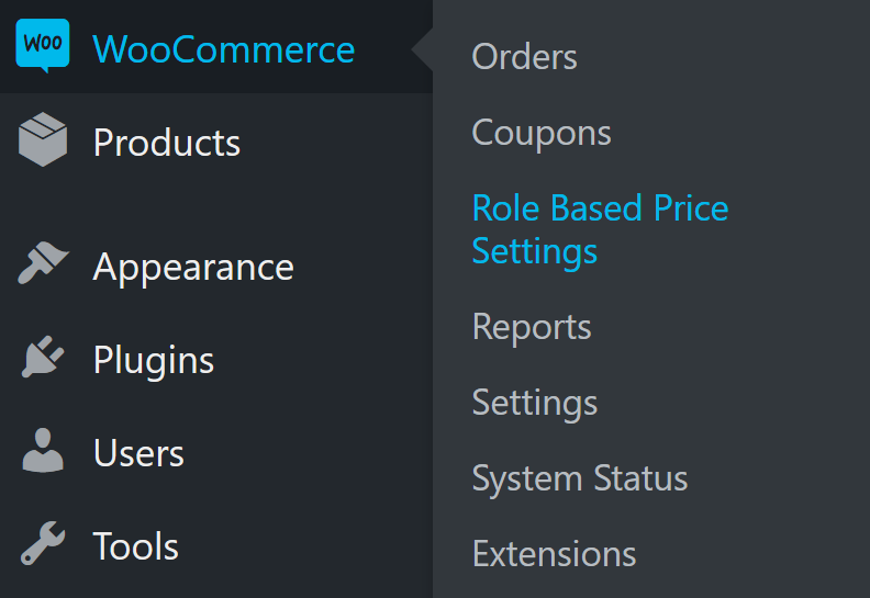 woocommerce-role-based-price screenshot 2