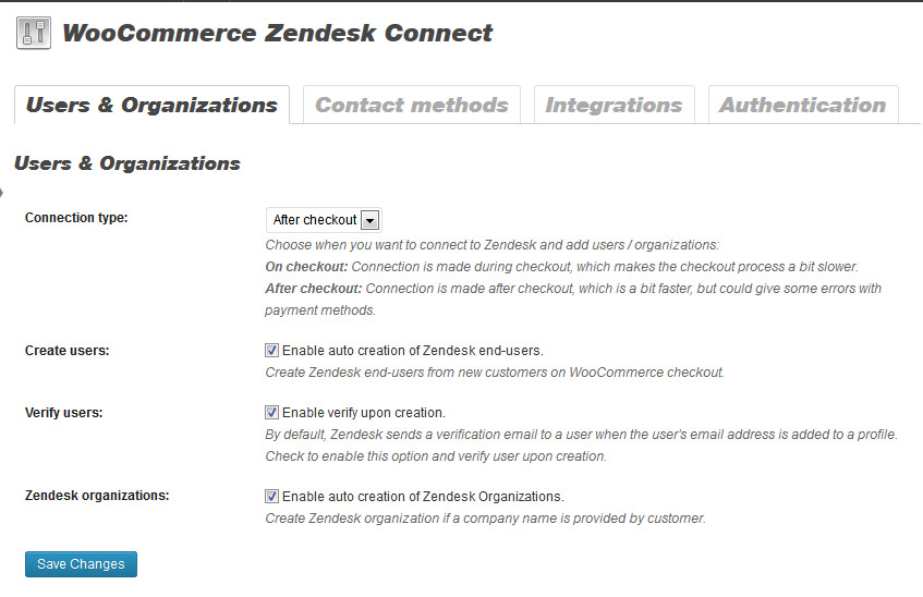 woocommerce-zendesk-connect screenshot 1