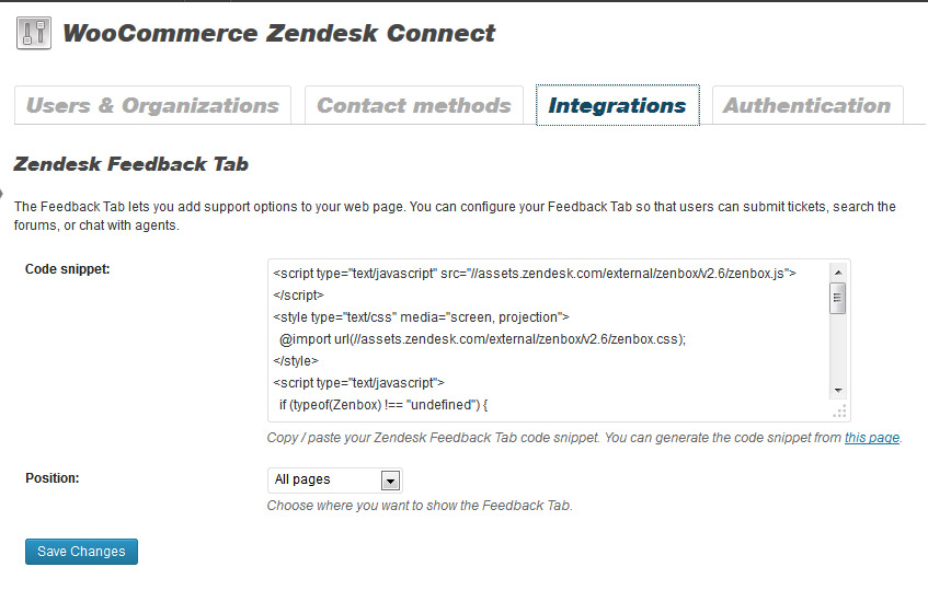 woocommerce-zendesk-connect screenshot 3