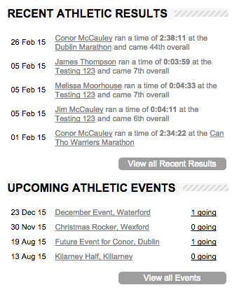 wp-athletics screenshot 9
