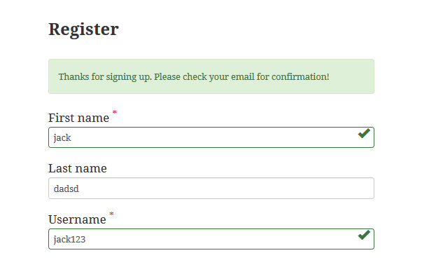 wp-custom-register-login screenshot 4
