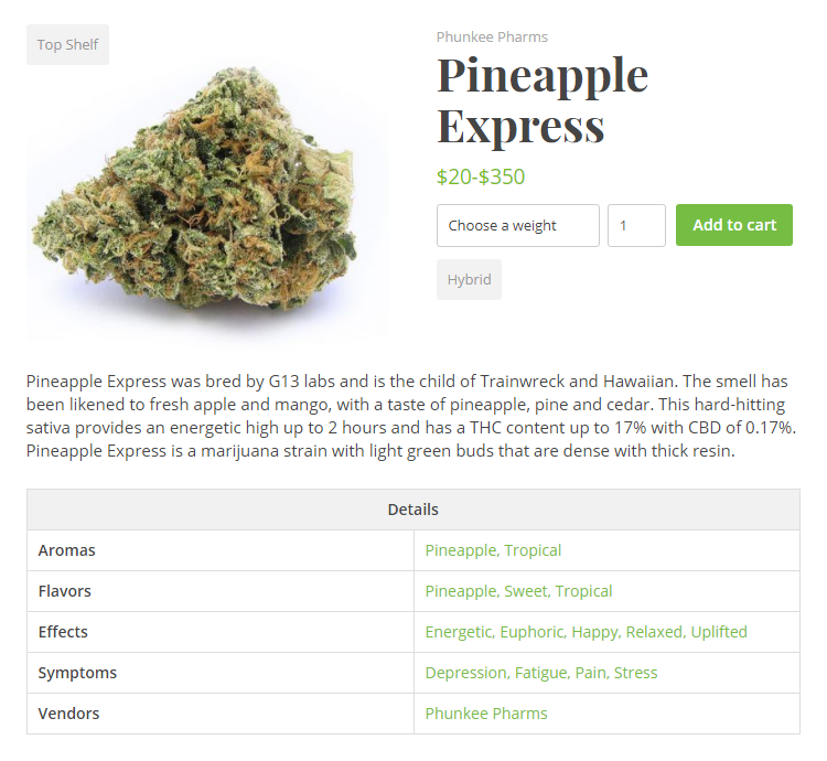 wp-dispensary screenshot 3