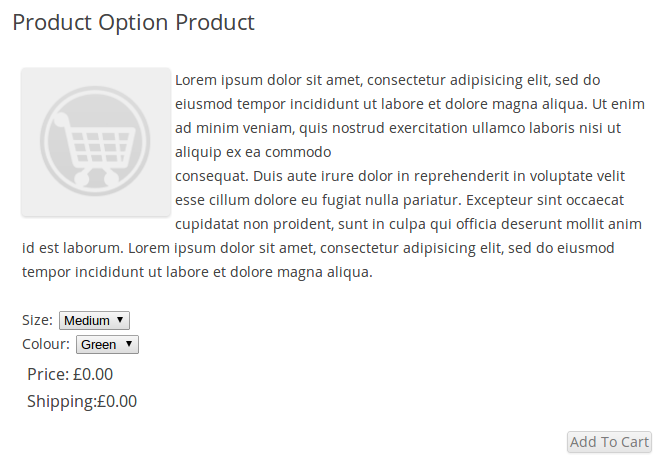 wp-e-commerce-simple-product-options screenshot 5