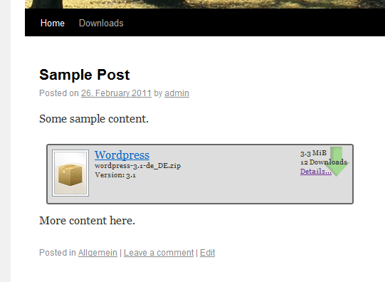 wp-filebase screenshot 3