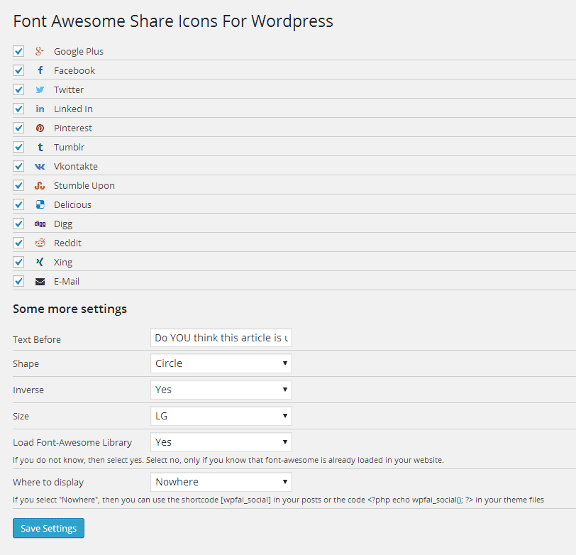 wp-font-awesome-share-icons screenshot 1