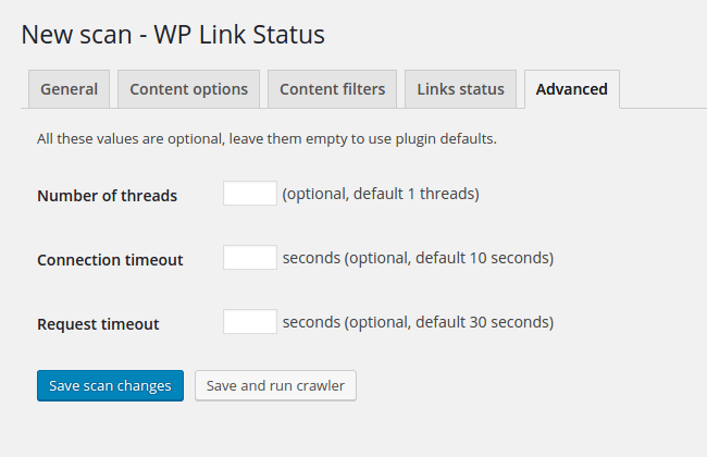 wp-link-status screenshot 5