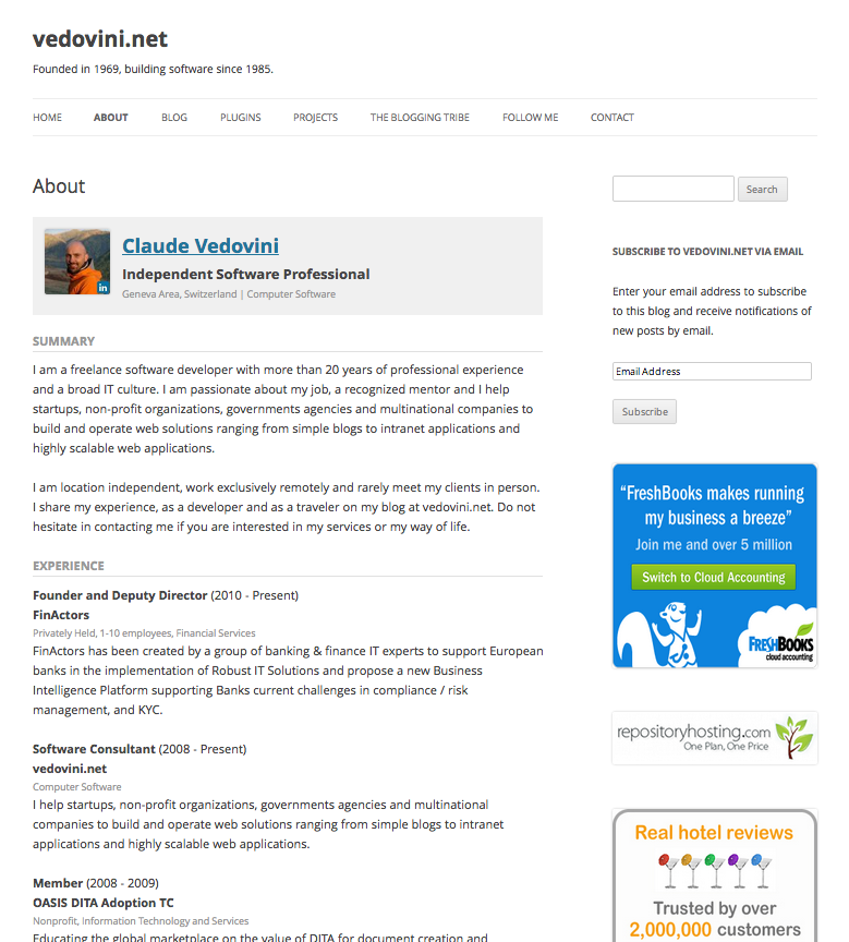 wp-linkedin screenshot 2