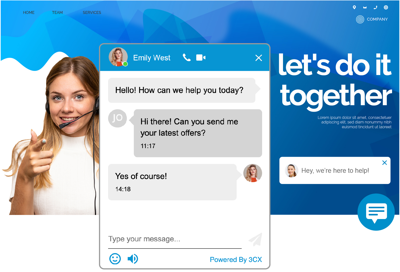 wp-live-chat-support screenshot 1