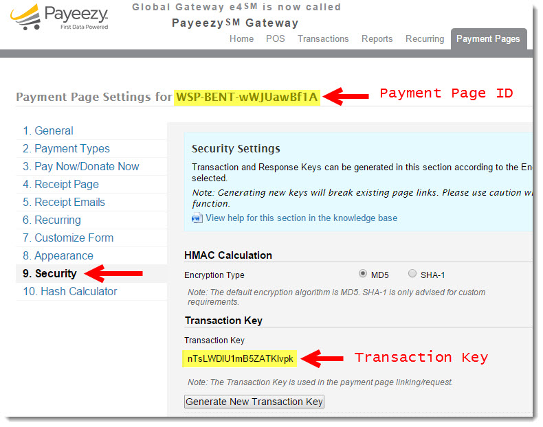wp-payeezy-pay screenshot 4