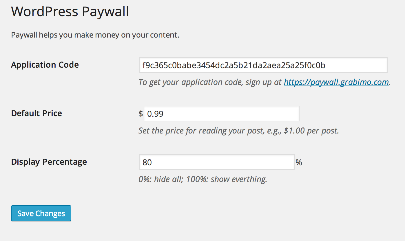 wp-paywall screenshot 1