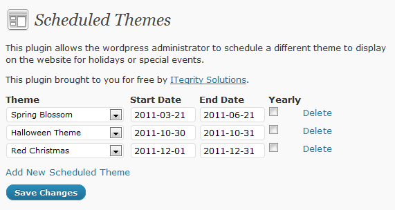 wp-scheduled-themes screenshot 1
