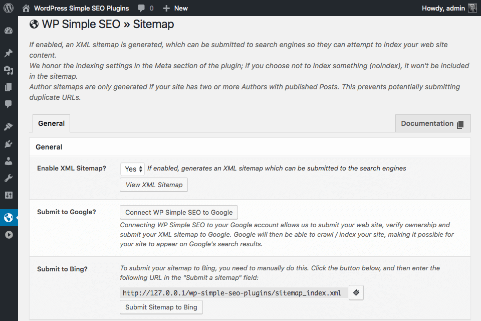 wp-simple-seo screenshot 5
