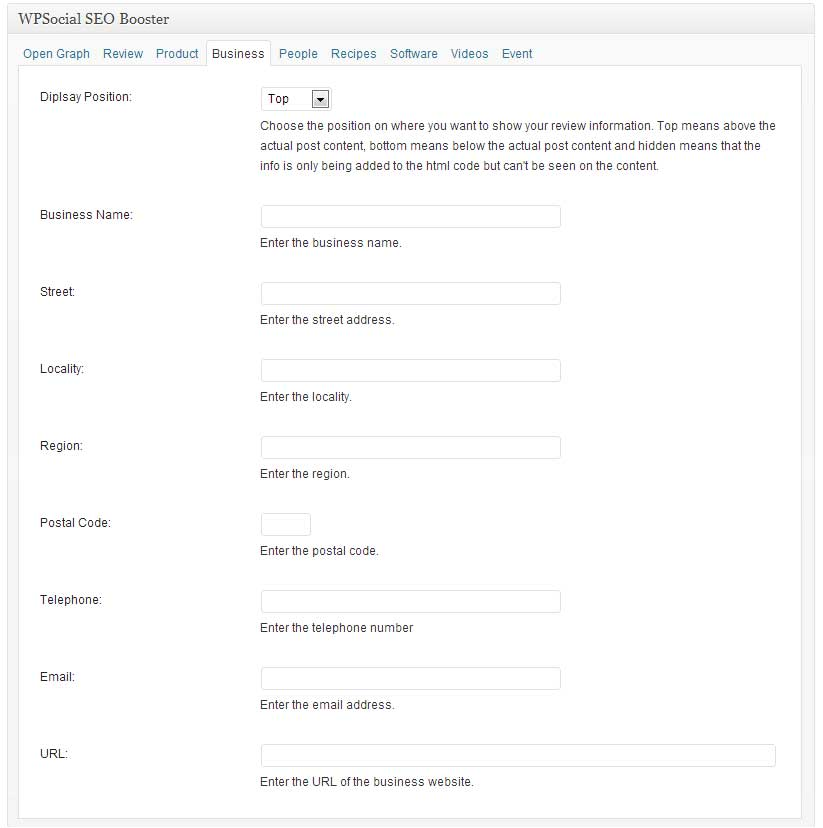 wp-social-seo-booster screenshot 4