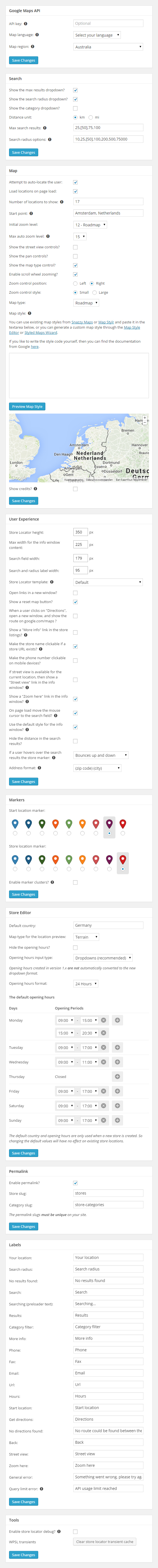 wp-store-locator screenshot 4