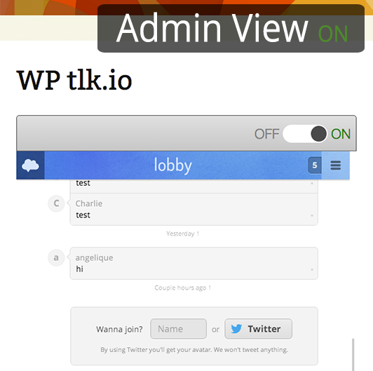 wp-tlkio screenshot 1