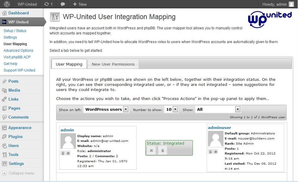 wp-united screenshot 3