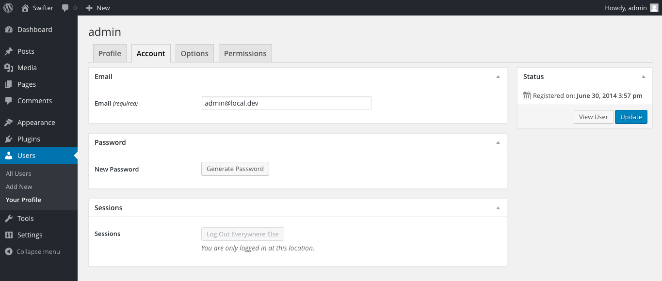 wp-user-profiles screenshot 2