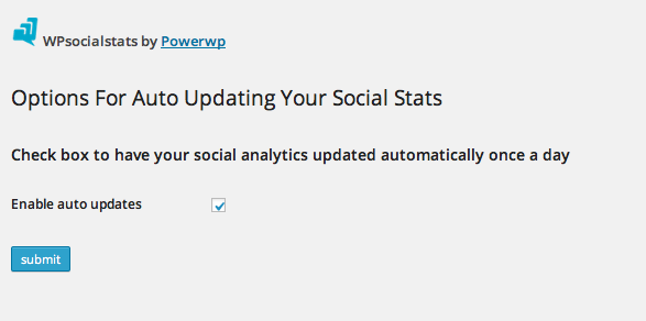 wpsocialstats screenshot 3