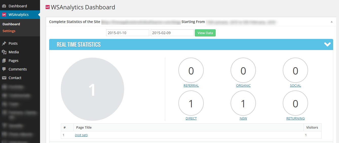 wsanalytics-google-analytics-and-dashboards screenshot 2