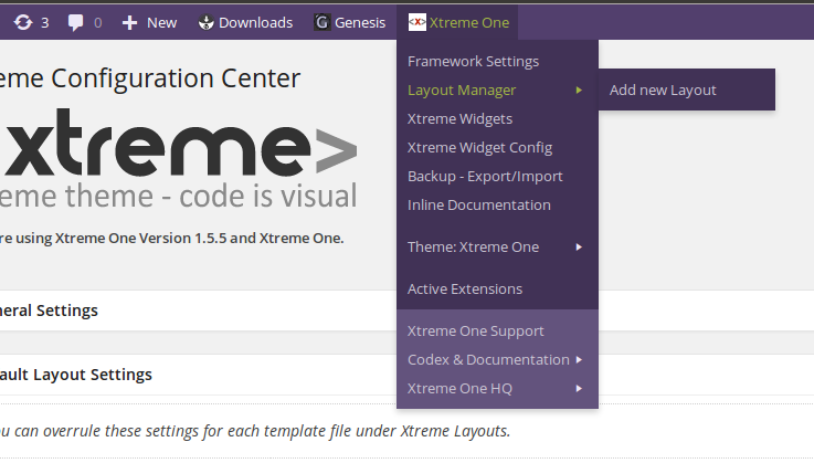 xtreme-one-toolbar screenshot 1