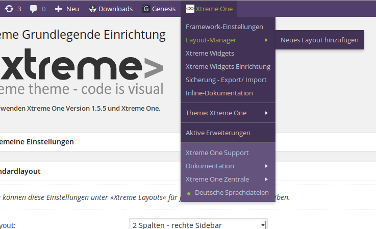 xtreme-one-toolbar screenshot 2