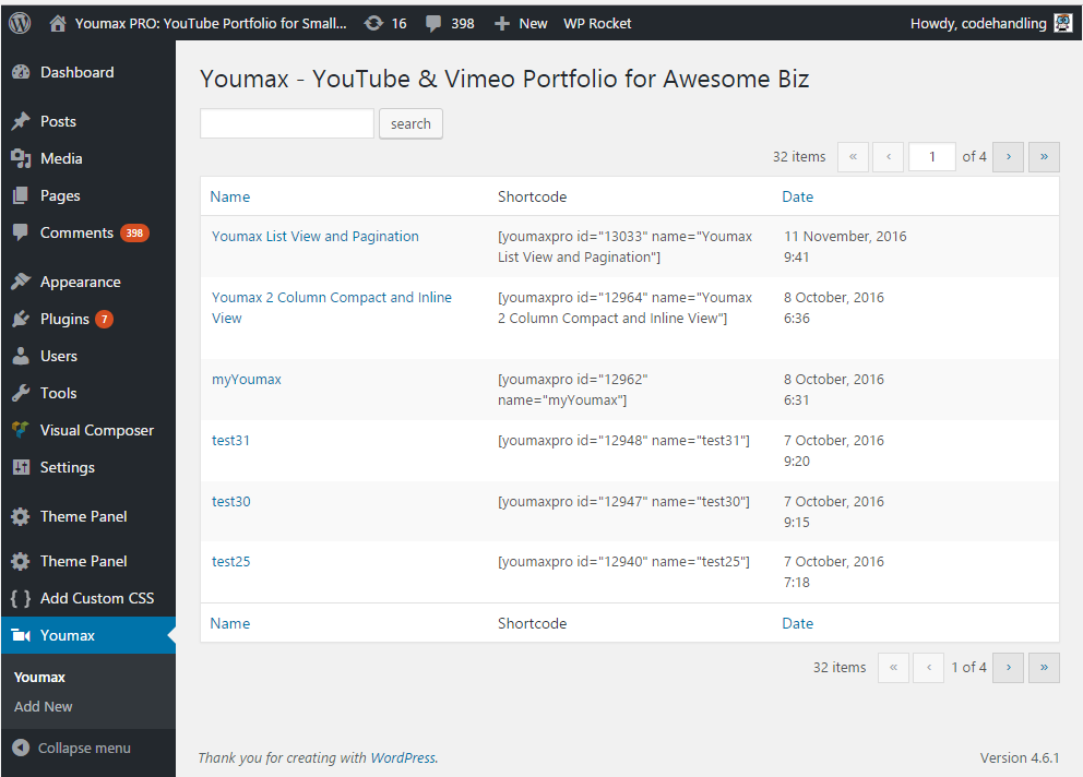 youmax-channel-embeds-for-youtube-businesses screenshot 1