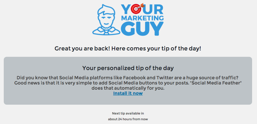 yourmarketingguy screenshot 1