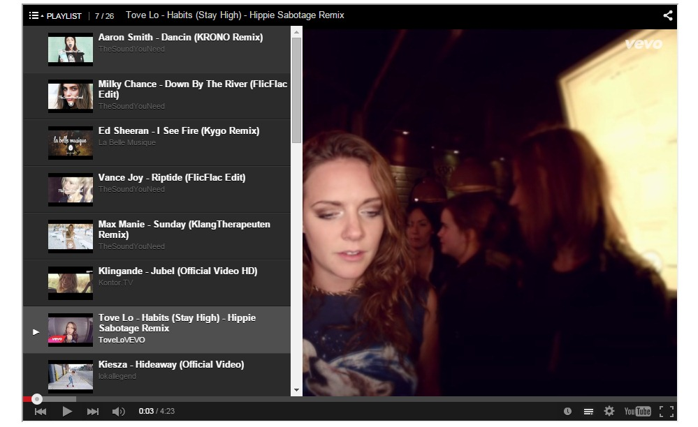 youtube-video-player screenshot 4