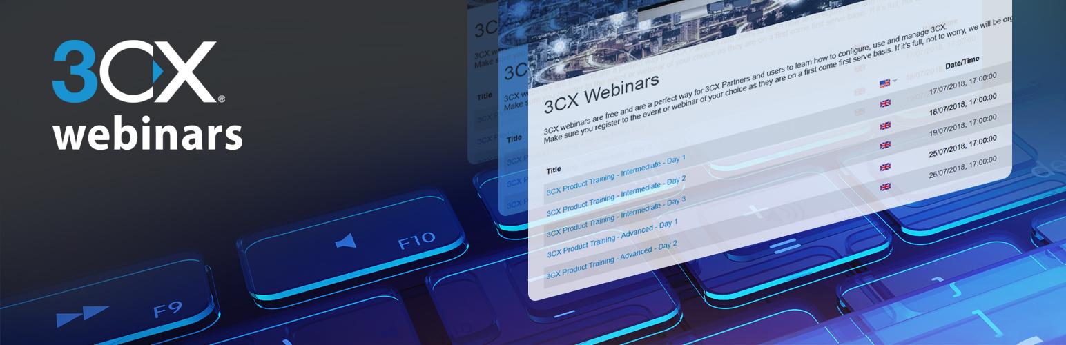3CX Webinars