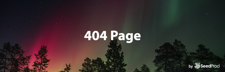 404 Page by SeedProd