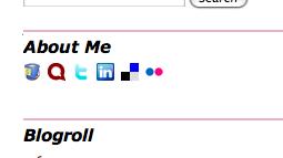 About Me sidebar widget