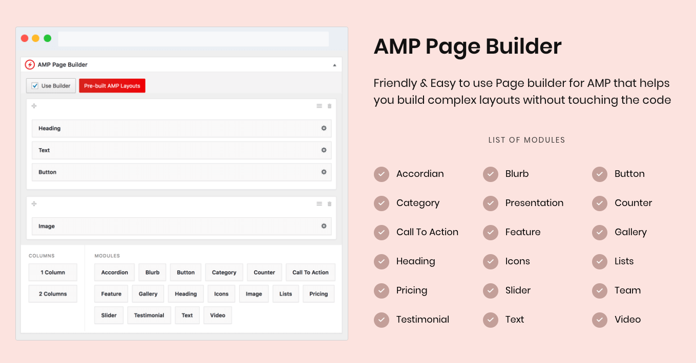 Page builder of the Single article. You can drag and drop any element.