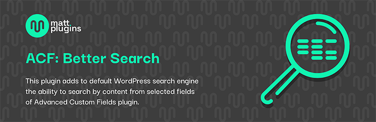 ACF: Better Search