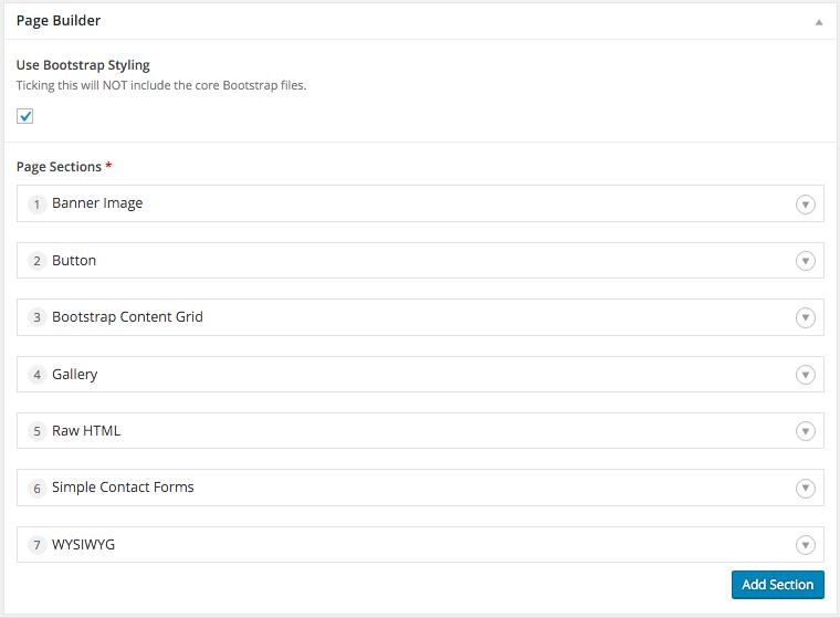 Advanced Custom Fields Page Builder Wordpress