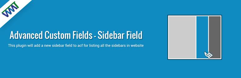 Advanced Custom Fields Sidebar