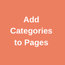 Add Category to Pages logo