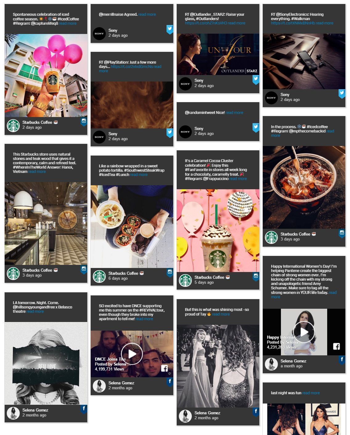 Social Feed | All social media in one place