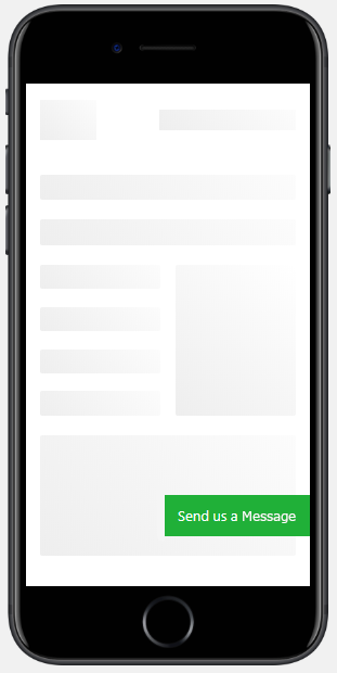 "An example of the side-floating rectangle button design. You can customize the text on the button, as well as the button's background and text colors, in the ""Button Design"" tab."