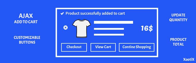 WooCommerce added to cart popup (Ajax) – WordPress plugin