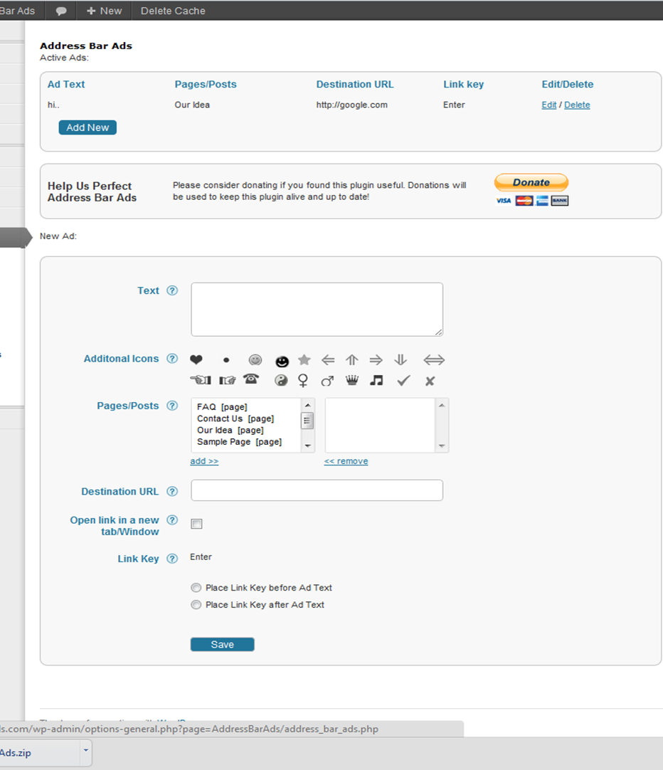 admin panel look and feel page1